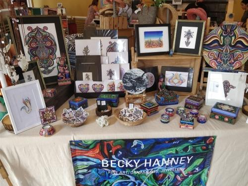 Becky Hanney - Framing & Fine Art stall
