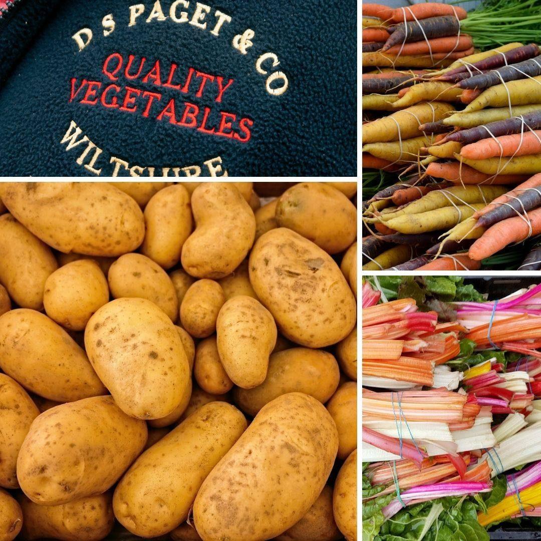 Duncan Paget - veg badge montage
