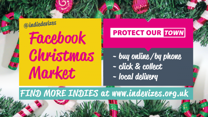 Devizes indies Christmas Market notice