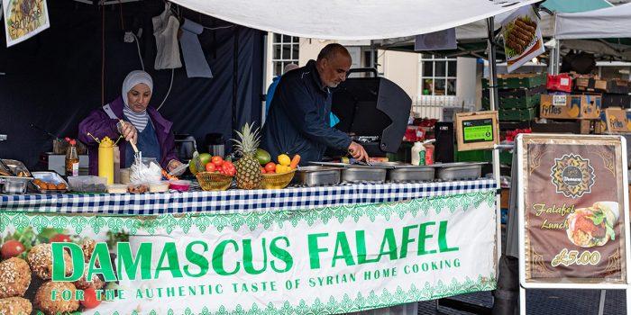Falaffel Stall