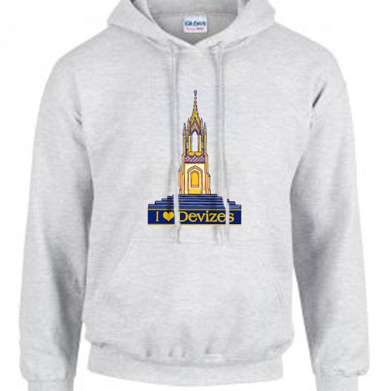 grey hoodie sample