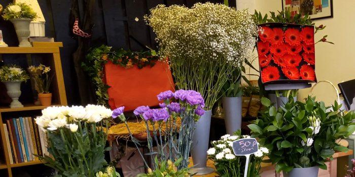 Devizes Shambles Flower Stall