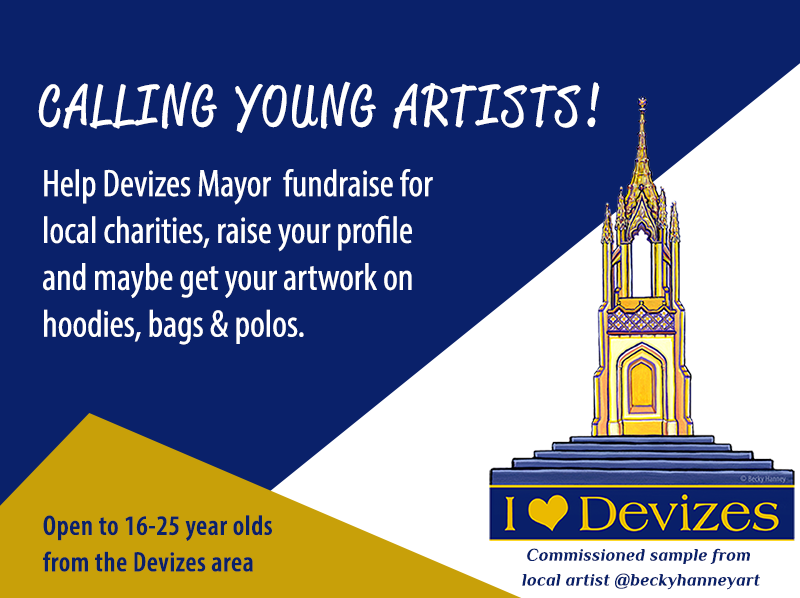 Call for artists to submit artwork to mayor's fundraiser.