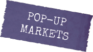 Pop-Up markets label